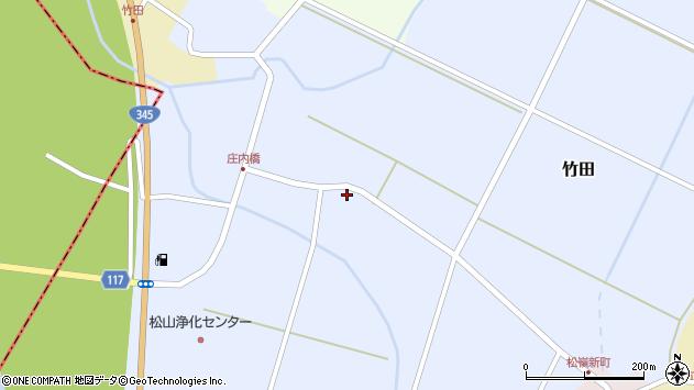 山形県酒田市竹田竹ノ下1周辺の地図