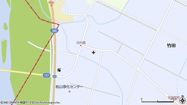 山形県酒田市竹田竹ノ下6周辺の地図