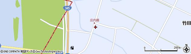 山形県酒田市竹田竹ノ下24周辺の地図