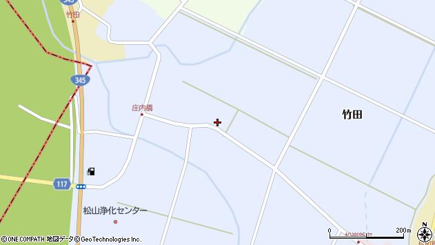 山形県酒田市竹田藤里14周辺の地図
