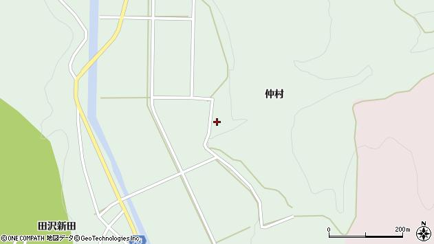 山形県酒田市田沢仲村7周辺の地図