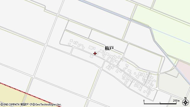 山形県酒田市板戸福岡89周辺の地図