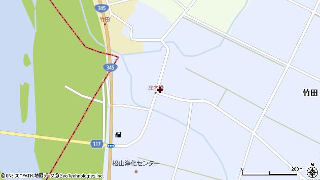 山形県酒田市竹田竹ノ下29周辺の地図