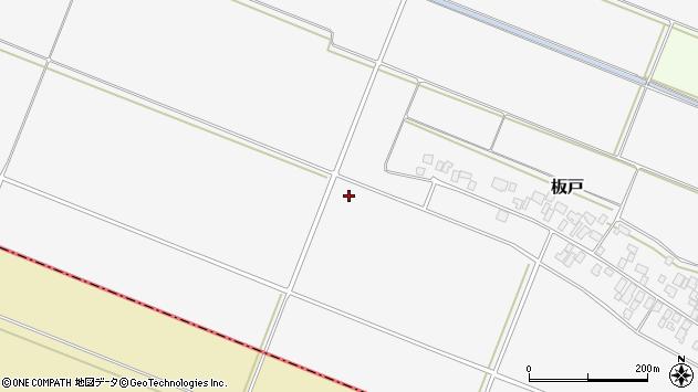 山形県酒田市板戸南田周辺の地図