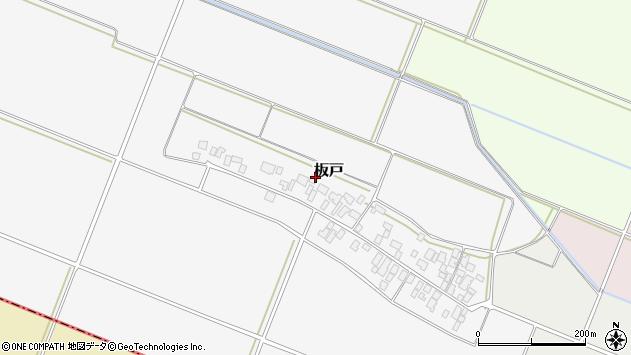 山形県酒田市板戸福岡99周辺の地図