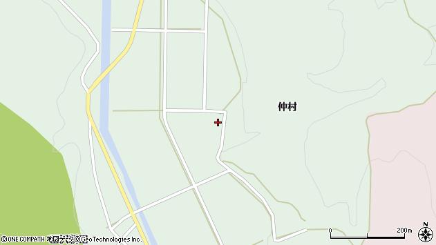 山形県酒田市田沢仲村19周辺の地図
