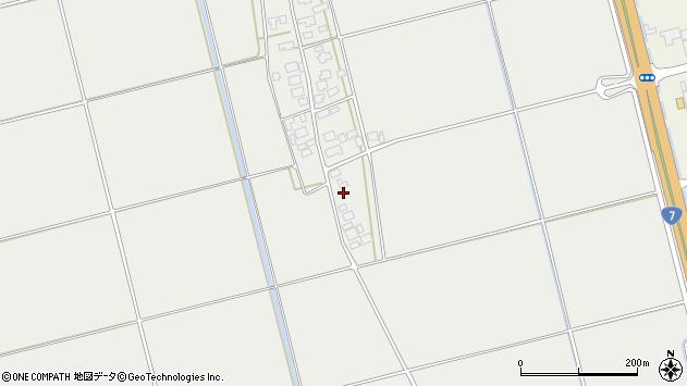 山形県酒田市広野下中村54周辺の地図