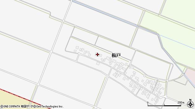 山形県酒田市板戸福岡83周辺の地図