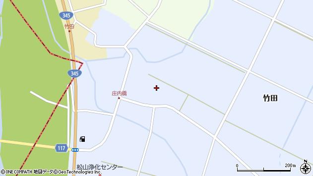 山形県酒田市竹田竹ノ下16周辺の地図