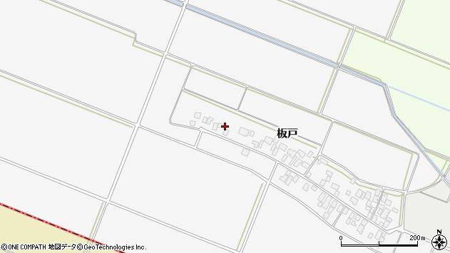 山形県酒田市板戸福岡81周辺の地図