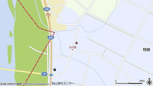 山形県酒田市竹田竹ノ下33周辺の地図