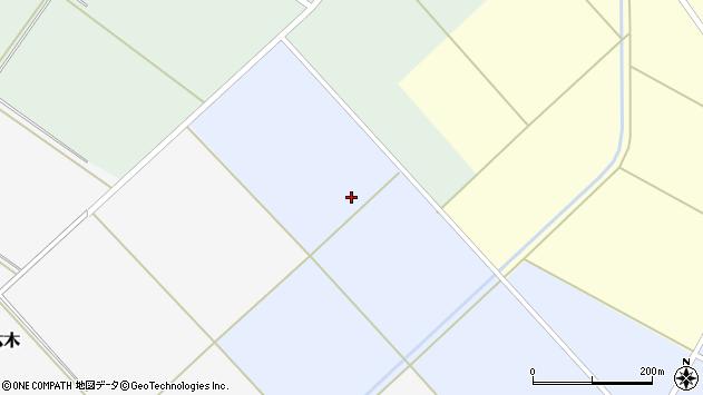 山形県東田川郡庄内町槇島中台周辺の地図