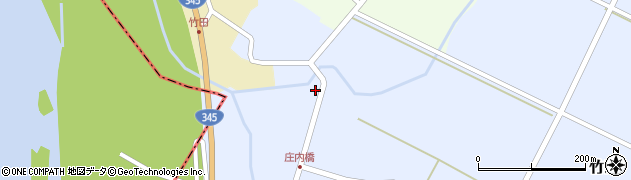 山形県酒田市竹田竹ノ下43周辺の地図