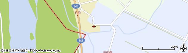 山形県酒田市中牧田山岸1周辺の地図