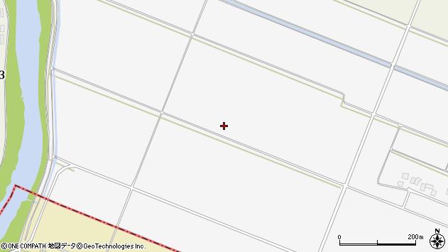 山形県酒田市板戸大坪周辺の地図