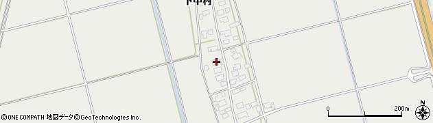 山形県酒田市広野下中村106周辺の地図