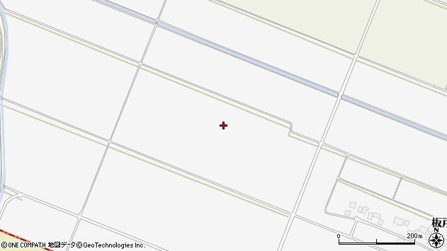 山形県酒田市板戸中割周辺の地図