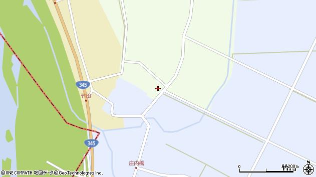 山形県酒田市引地宅地14周辺の地図