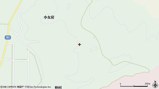 山形県酒田市田沢曽根之沢周辺の地図