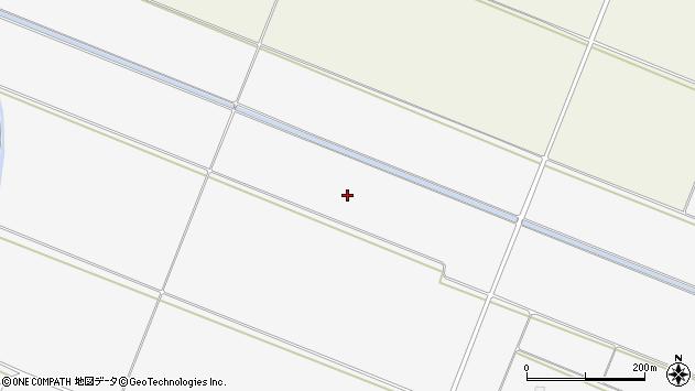 山形県酒田市板戸北大坪周辺の地図