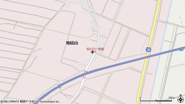 山形県酒田市坂野辺新田地続山611周辺の地図