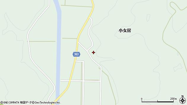 山形県酒田市田沢小女房16周辺の地図