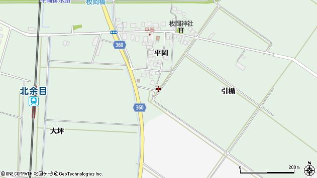山形県東田川郡庄内町平岡平岡85周辺の地図