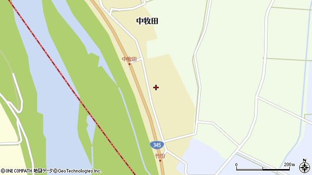 山形県酒田市中牧田山岸55周辺の地図
