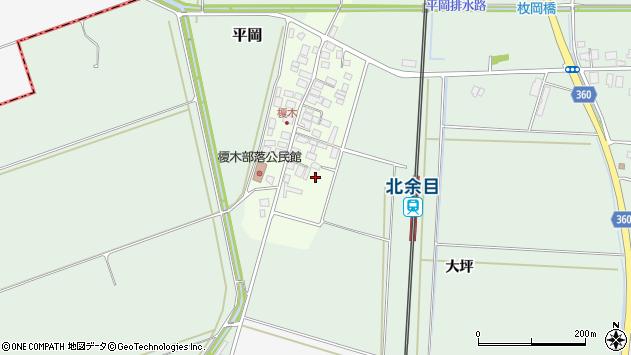 山形県東田川郡庄内町榎木小金台1周辺の地図