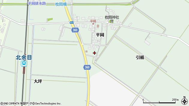 山形県東田川郡庄内町平岡平岡89周辺の地図