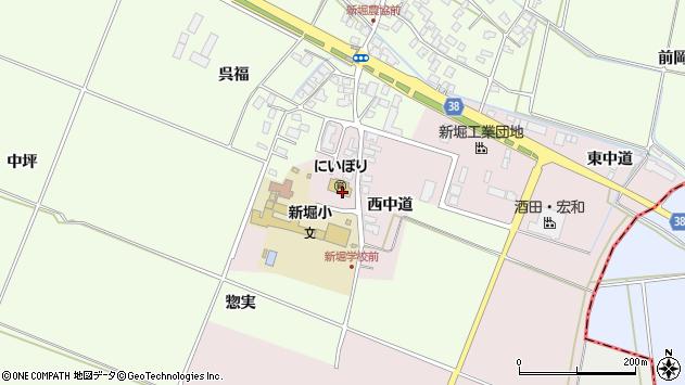 山形県酒田市木川アラコウヤ35周辺の地図