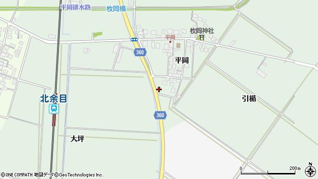 山形県東田川郡庄内町平岡平岡94周辺の地図