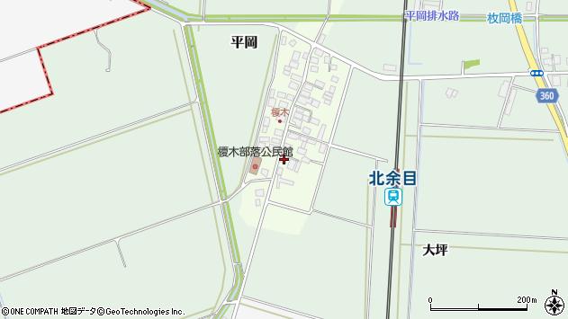 山形県東田川郡庄内町榎木小金台7周辺の地図