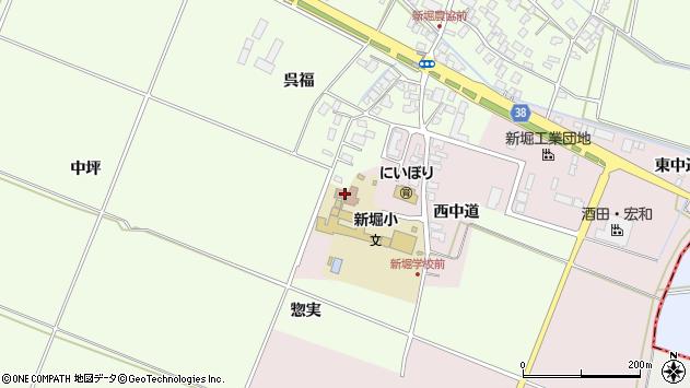 山形県酒田市木川アラコウヤ周辺の地図