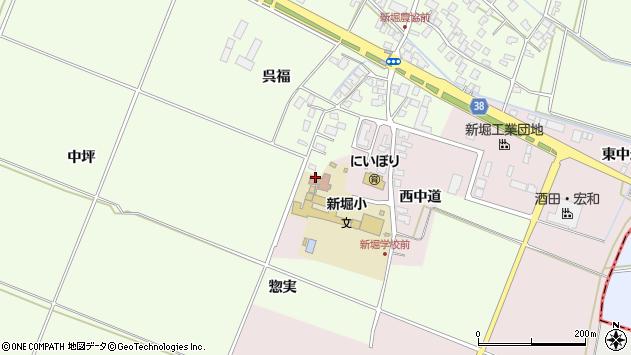 山形県酒田市木川アラコウヤ34周辺の地図