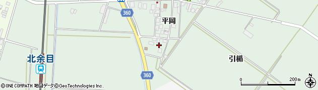 山形県東田川郡庄内町平岡平岡91周辺の地図