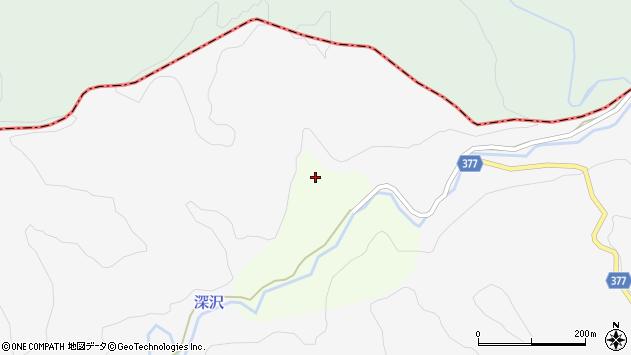 山形県最上郡鮭川村曲川4437周辺の地図