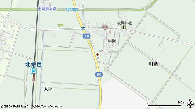 山形県東田川郡庄内町平岡平岡95周辺の地図
