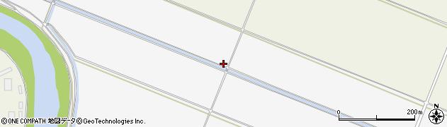 山形県酒田市落野目堤割134周辺の地図