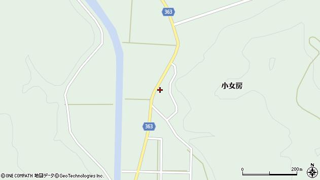 山形県酒田市田沢小女房33周辺の地図