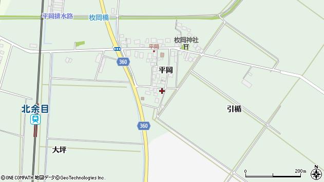 山形県東田川郡庄内町平岡平岡15周辺の地図