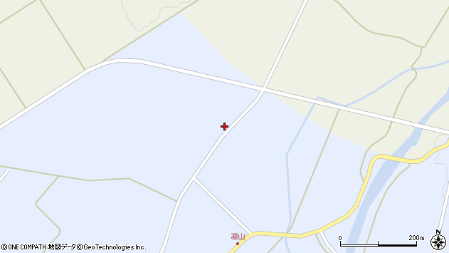 山形県最上郡金山町山崎三枝68周辺の地図