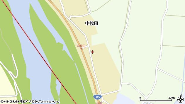 山形県酒田市中牧田山岸59周辺の地図