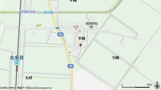 山形県東田川郡庄内町平岡平岡17周辺の地図