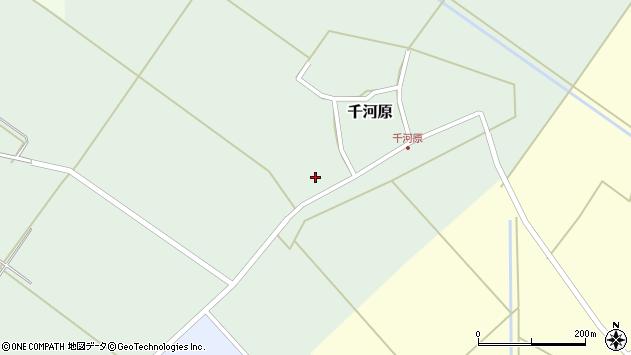 山形県東田川郡庄内町千河原前野118周辺の地図