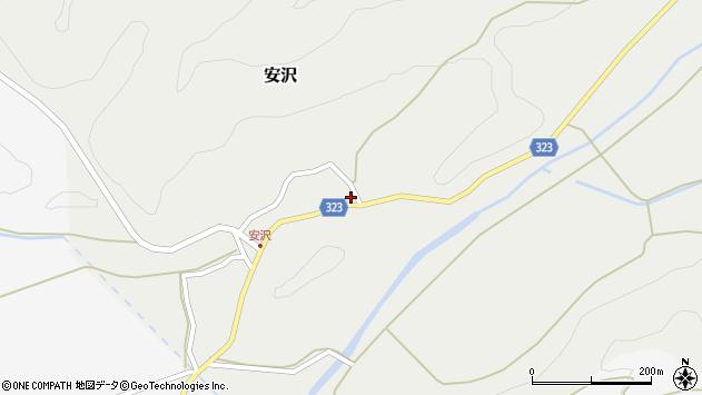 山形県最上郡金山町安沢290周辺の地図