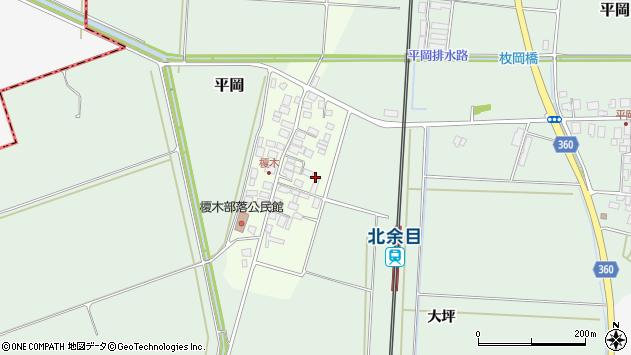 山形県東田川郡庄内町榎木小金台周辺の地図