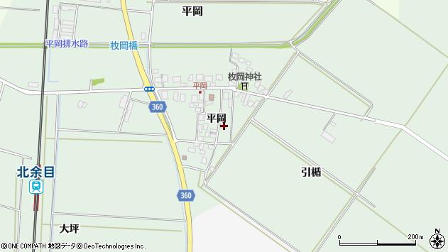山形県東田川郡庄内町平岡平岡14周辺の地図