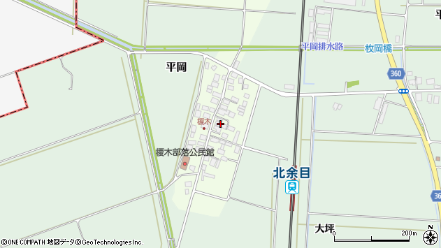 山形県東田川郡庄内町榎木小金台20周辺の地図