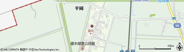 山形県東田川郡庄内町榎木小金台33周辺の地図